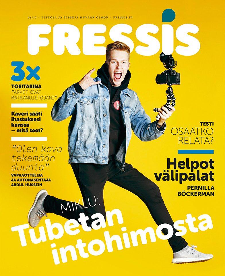 Anna palautetta Fressis-lehdestä!